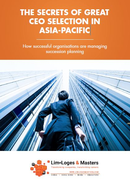 The secrets of great CEO selection in Asia-Pacific