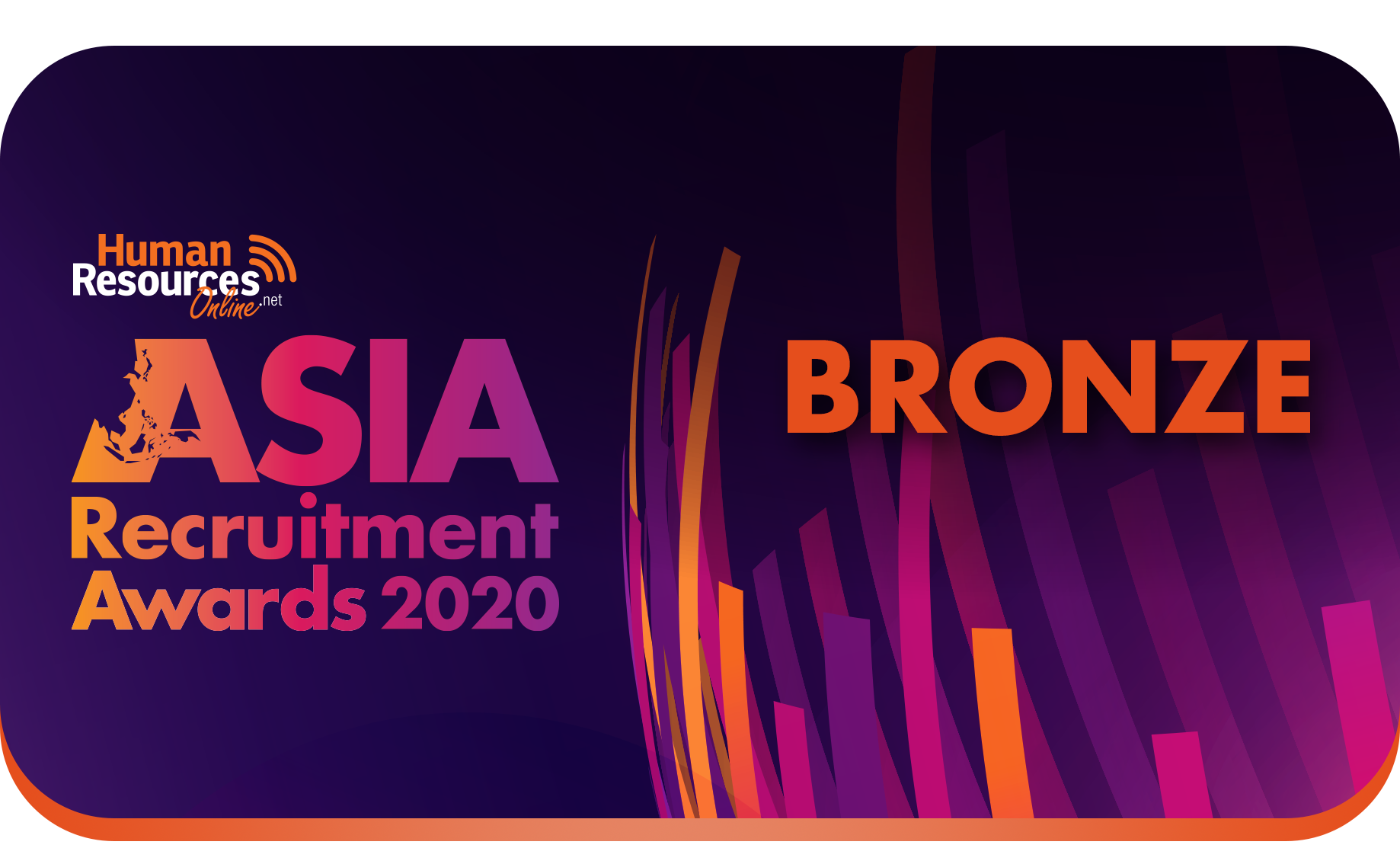 LLM wins Bronze for Best Specialist Recruitment Company in the Asia Recruitment Awards 2020!